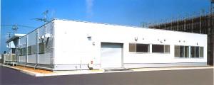 神戸空港電源局舎