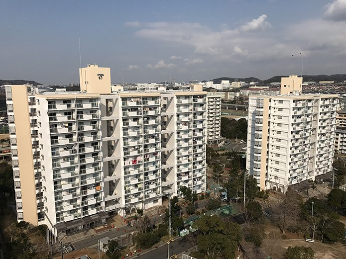 神戸市営竜が台住宅