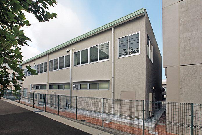 神戸市立鷹匠中学校給食配膳室校舎棟